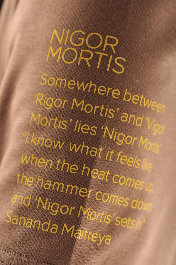 T-Shirt Nigor Mortis Man