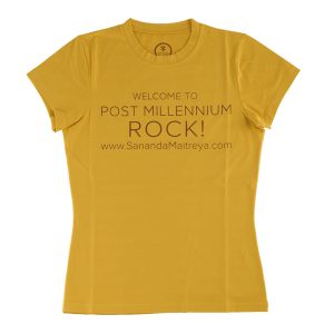 T-Shirt Post Millenium Rock Woman