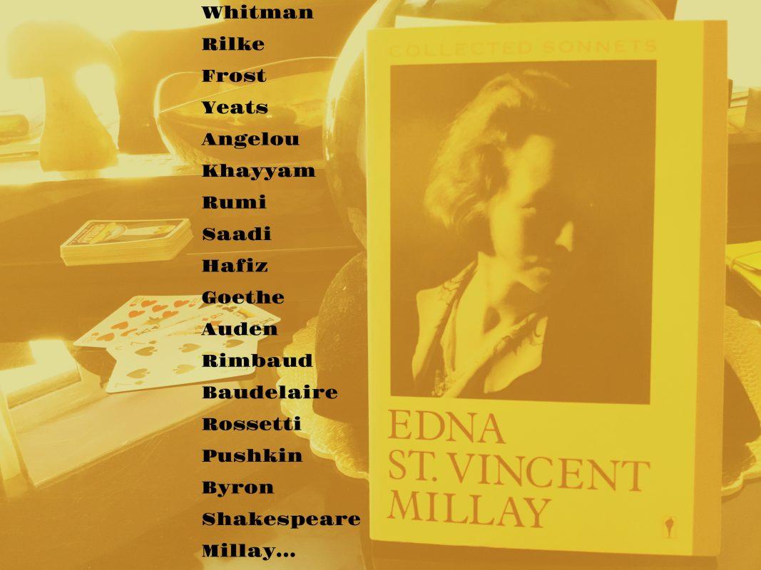 Memes Sananda Reads Edna St. Vincent Millay